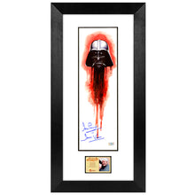 Load image into Gallery viewer, David Prowse Autographed Star Wars Darth Vader 5.5x17 Art Print