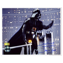 Load image into Gallery viewer, David Prowse Autographed Star Wars Darth Vader Gantry 8x10 Photo