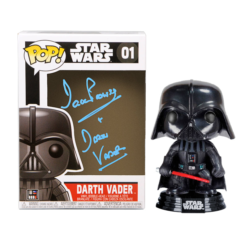 David Prowse Autographed Star Wars Darth Vader POP Vinyl Figure #01