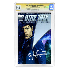 Load image into Gallery viewer, Zachary Quinto Autographed Star Trek: Countdown to Darkness #3 CGC SS 9.8