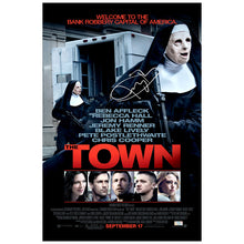 Load image into Gallery viewer, Jeremy Renner Autographed The Town 16x24 Poster