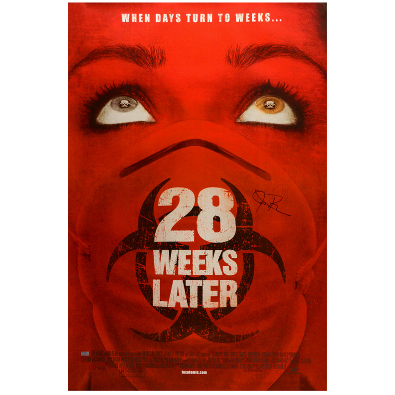 Jeremy Renner Autographed 2007 28 Weeks Later 27x40 Original Single-Sided Movie Poster
