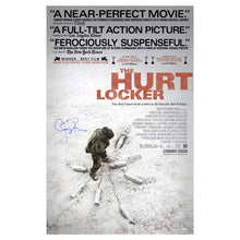 Load image into Gallery viewer, Jeremy Renner Autographed The Hurt Locker 27x40 Original Double Sided Poster