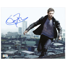 Load image into Gallery viewer, Jeremy Renner Autographed Bourne Legacy Aaron Cross 8x10 Photo