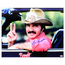 Load image into Gallery viewer, Burt Reynolds Autographed Smokey and The Bandit 16x20 Photo