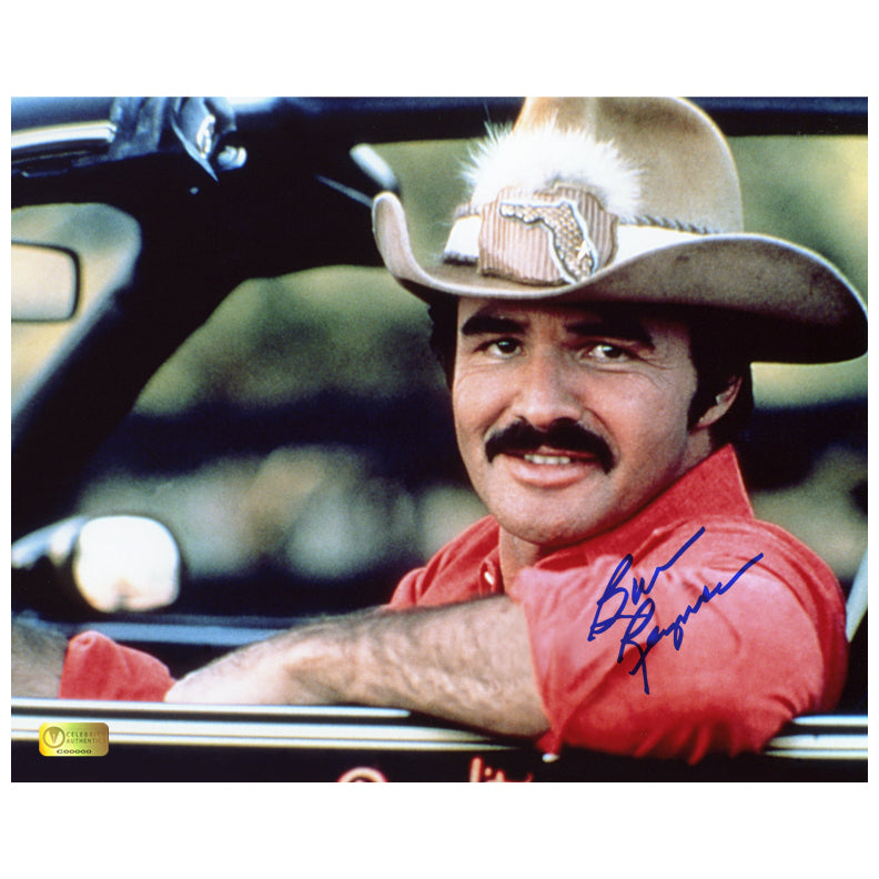 Burt Reynolds Autographed Smokey and The Bandit II 8x10 Photo