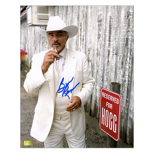 Burt Reynolds Autographed Dukes of Hazzard Boss Hogg 8x10 Photo