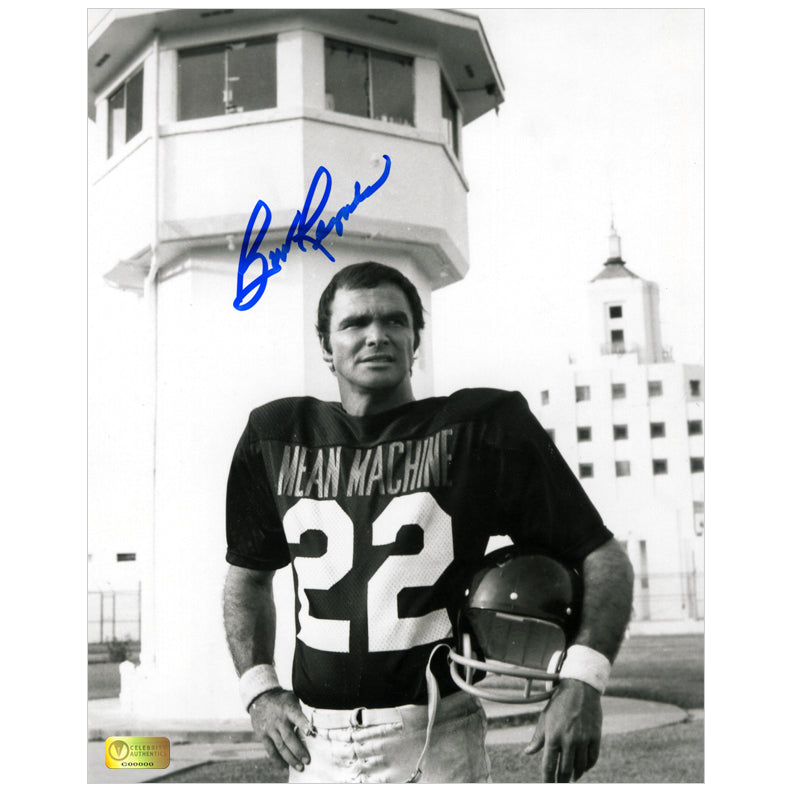 Burt Reynolds AutographedThe Longest Yard Mean Machine 8x10 Photo