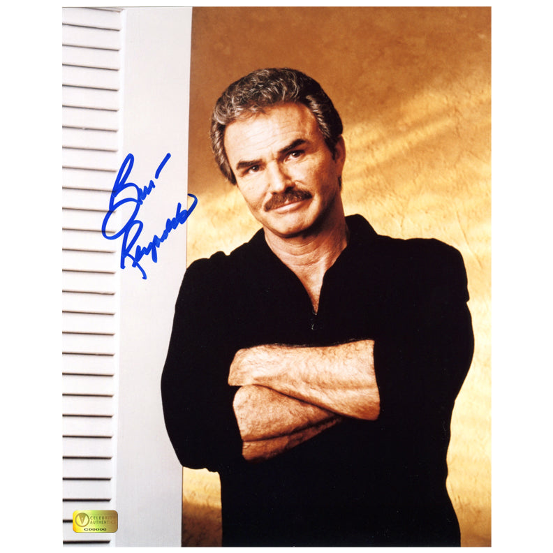 Burt Reynolds Autographed 8×10 Portrait Photo