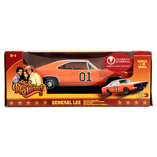 Burt Reynolds Autographed The Dukes of Hazzard General Lee 1:18 Scale Die-Cast Car