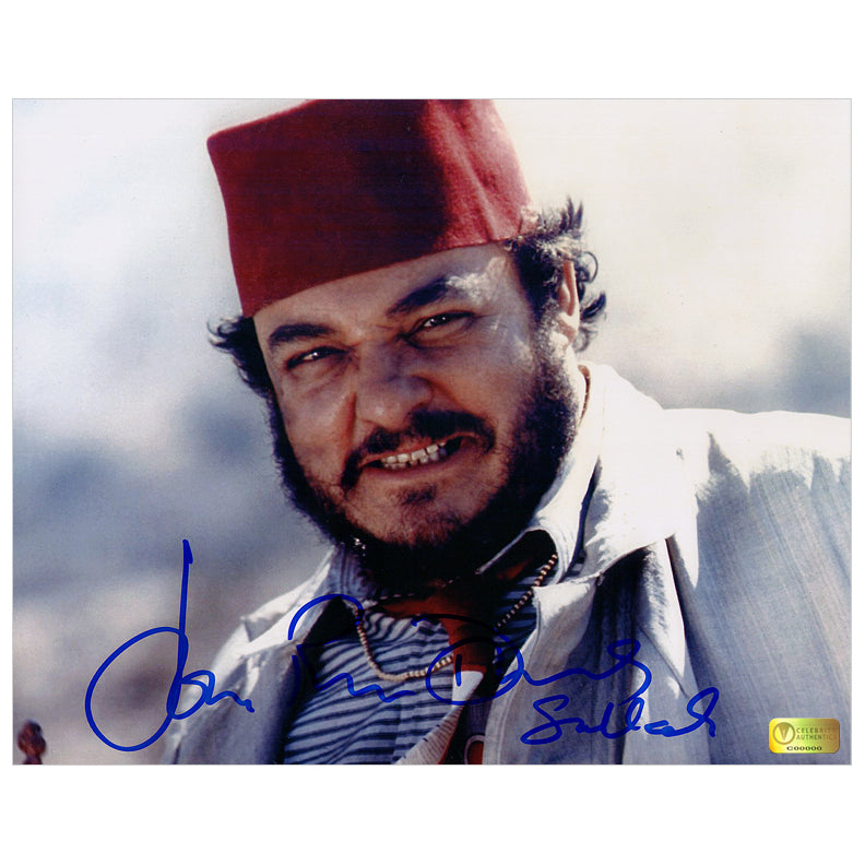 John Rhys-Davies Autographed Indiana Jones and the Last Crusade Sallah 8x10 Photo