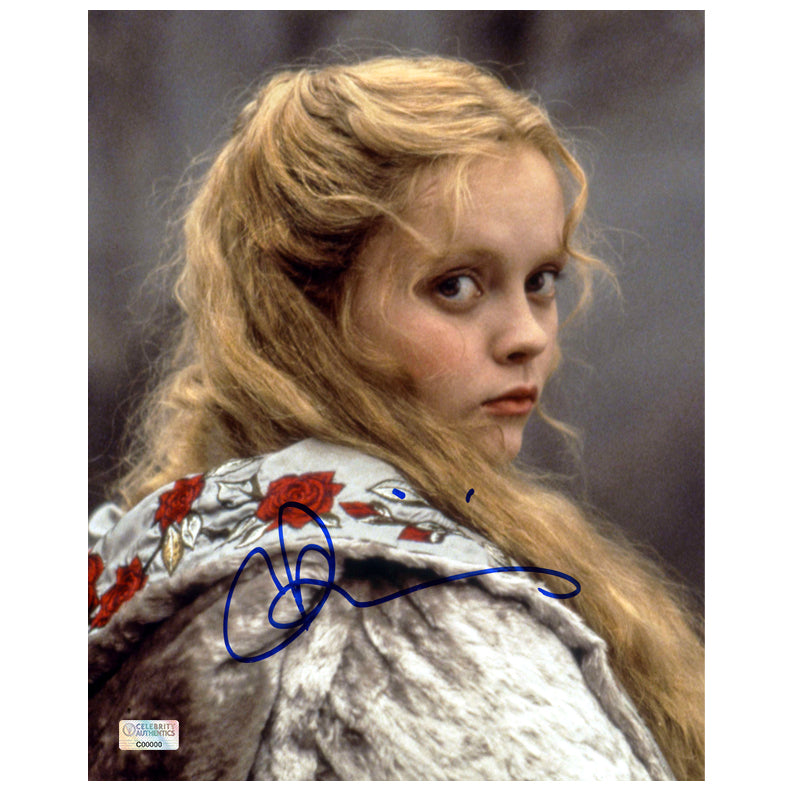 Christina Ricci Autographed Sleepy Hollow Katrina Van Tassel 8x10 Photo