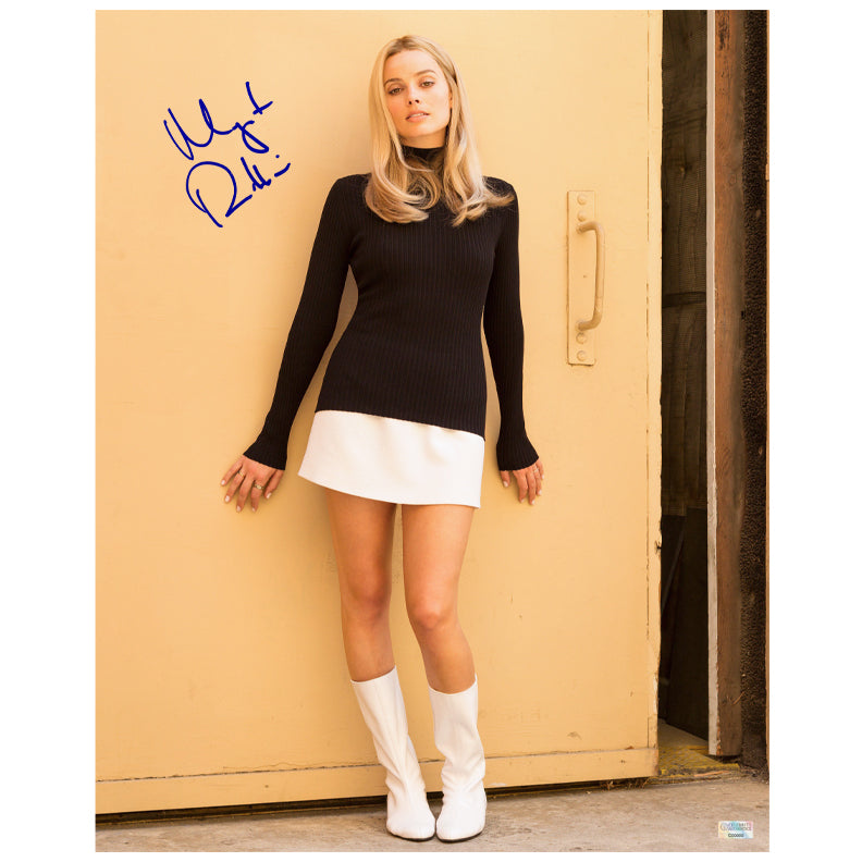 Margot Robbie Autographed Once Upon a Time... In Hollywood Sharon Tate 16x20 Photo