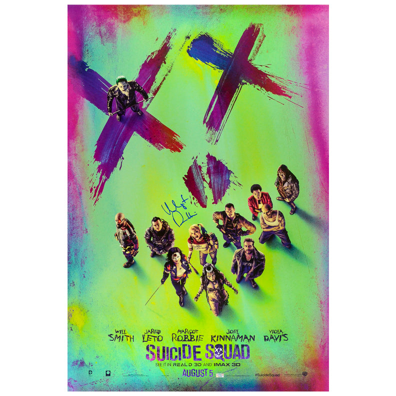 Margot Robbie Autographed Suicide Squad Original Double Sided 27×40 Movie Poster