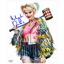 Load image into Gallery viewer, Margot Robbie Autographed Birds of Prey Harley Quinn 8×10 Studio Photo