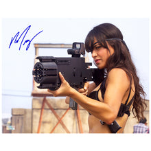 Load image into Gallery viewer, Michelle Rodriguez Autographed Machete She 11x14 Action Photo
