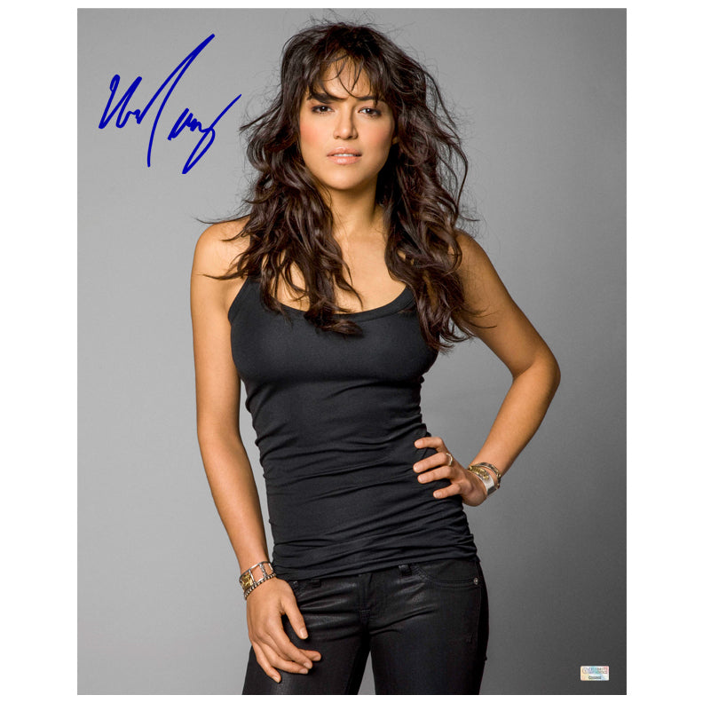 Michelle Rodriguez Autographed Fast and Furious Promo 16x20 Photo