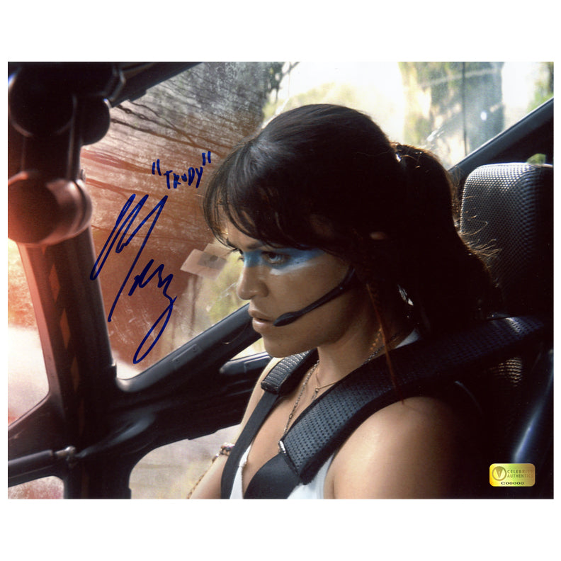 Michelle Rodriguez Autographed Avatar 8x10 Photo