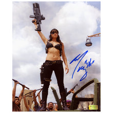 Load image into Gallery viewer, Michelle Rodriguez Autographed Machete She 8x10 Photo