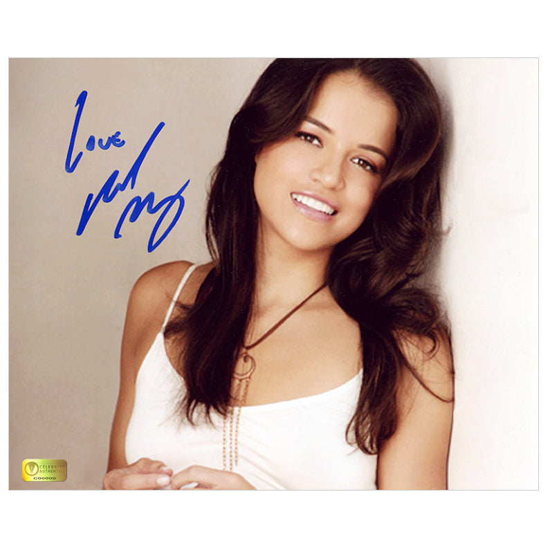 Michelle Rodriguez Autographed Portrait 8x10 Photo