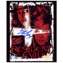 Load image into Gallery viewer, Michelle Rodriguez Autographed Resident Evil Poster 8x10 Photo