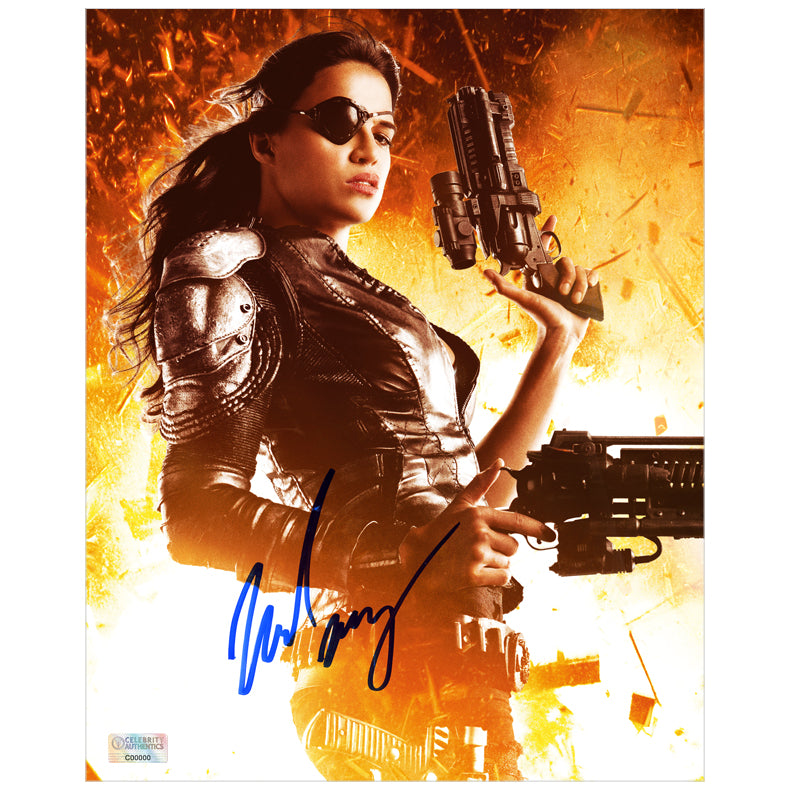 Michelle Rodriguez Autographed Machete Kills Luz 8x10 Photo