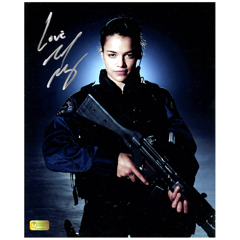 Michelle Rodriguez Autographed S.W.A.T. Chris Sanchez 8x10 Photo