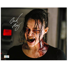 Load image into Gallery viewer, Michelle Rodriguez Autographed Resident Evil Zombie 8x10 Photo