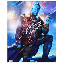 Load image into Gallery viewer, Michael Rooker Autographed Guardians of the Galaxy Yondu 11x14 Photo