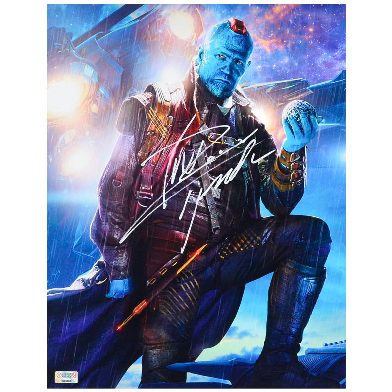 Michael Rooker Autographed Guardians of the Galaxy Yondu 11x14 Photo