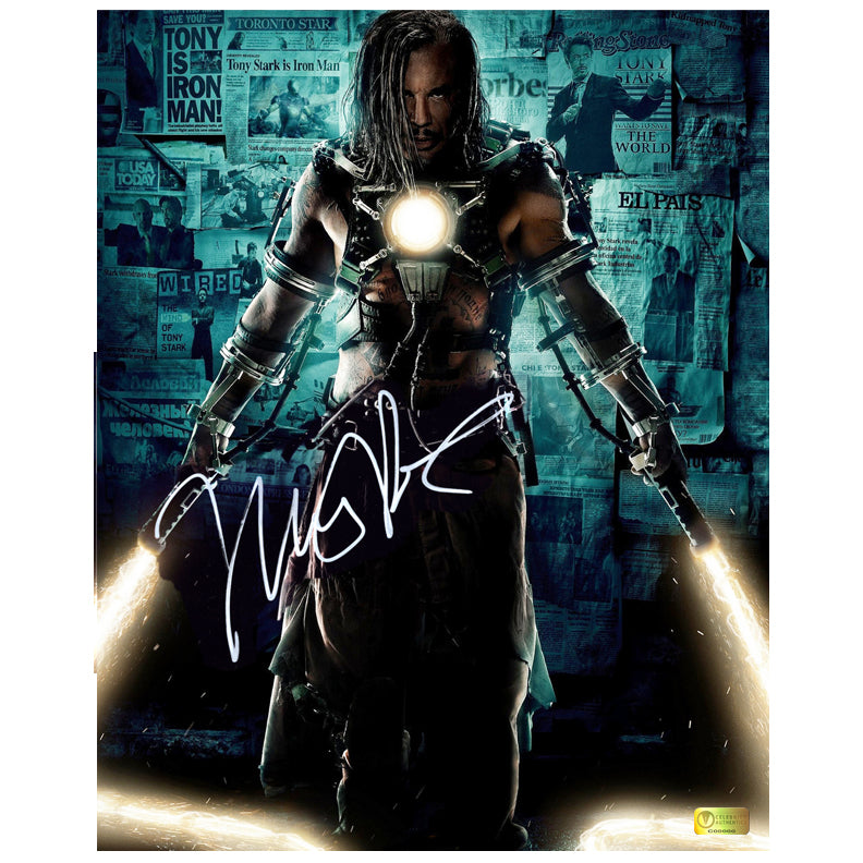 Mickey Rourke Autographed Iron Man 2 Whiplash 16x20 Poster