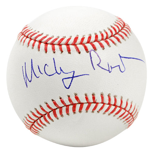 Mickey Rourke Autographed Official Rawlings Major League Baseball