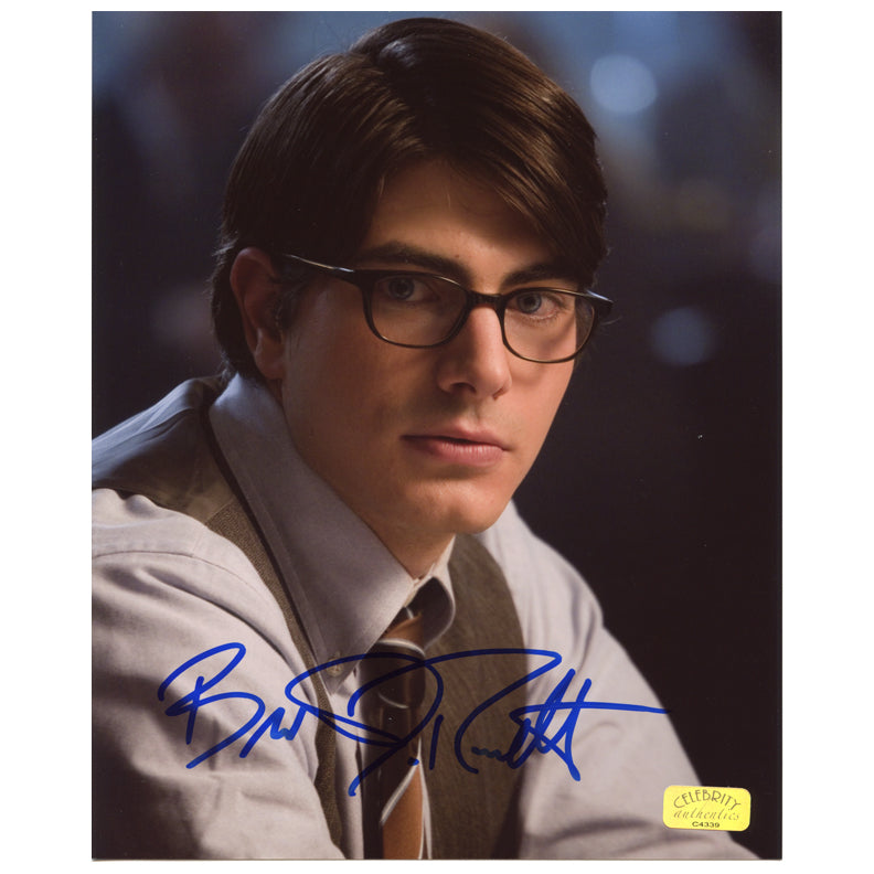 Brandon Routh Autographed Superman Returns Clark Kent 8x10 Photo
