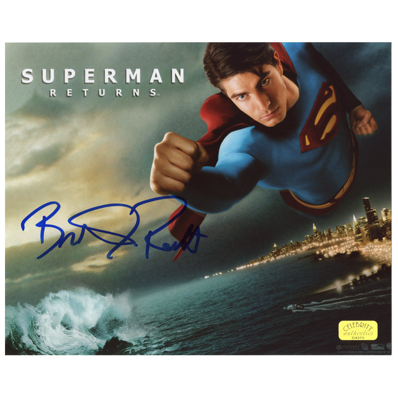 Brandon Routh Autographed Superman Returns Defender 8x10 Photo