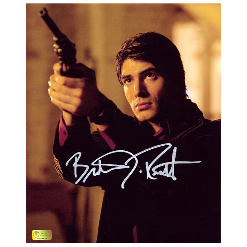 Brandon Routh Autographed Dead of Night Dylan Dog 8x10 Action Photo