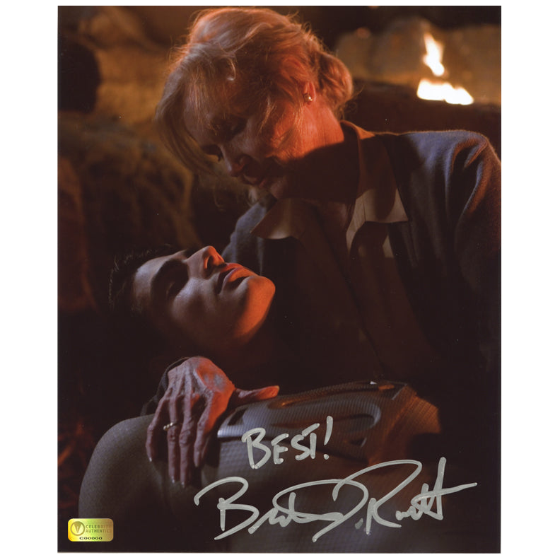 Brandon Routh Autographed Superman Returns Pod Crash 8x10 Close Up Photo