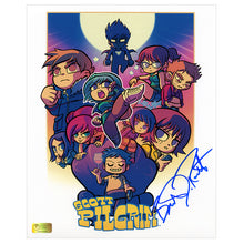 Load image into Gallery viewer, Brandon Routh Autographed Scott Pilgrim Artwork 8x10 Photo