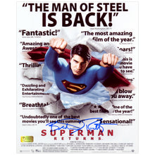 Load image into Gallery viewer, Brandon Routh Autographed Superman Returns Headlines 8x10 Photo