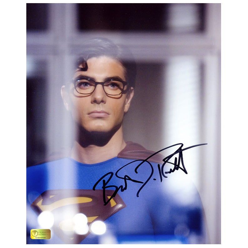 Brandon Routh Autographed Superman Returns Window 8x10 Photo