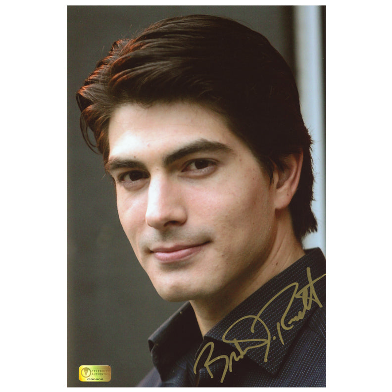 Brandon Routh Autographed 8x12 Portrait Photo
