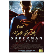 Load image into Gallery viewer, Brandon Routh Autographed Superman Returns IMAX 8x12 Photo