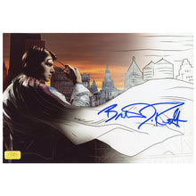 Load image into Gallery viewer, Brandon Routh Autographed Superman Returns Comic to Film 8.5x11 Photo