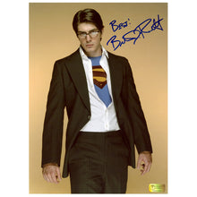 Load image into Gallery viewer, Brandon Routh Autographed Superman Returns Superman Reveal 8.5x11 Photo