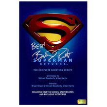 Load image into Gallery viewer, Brandon Routh Autographed Superman Returns Script