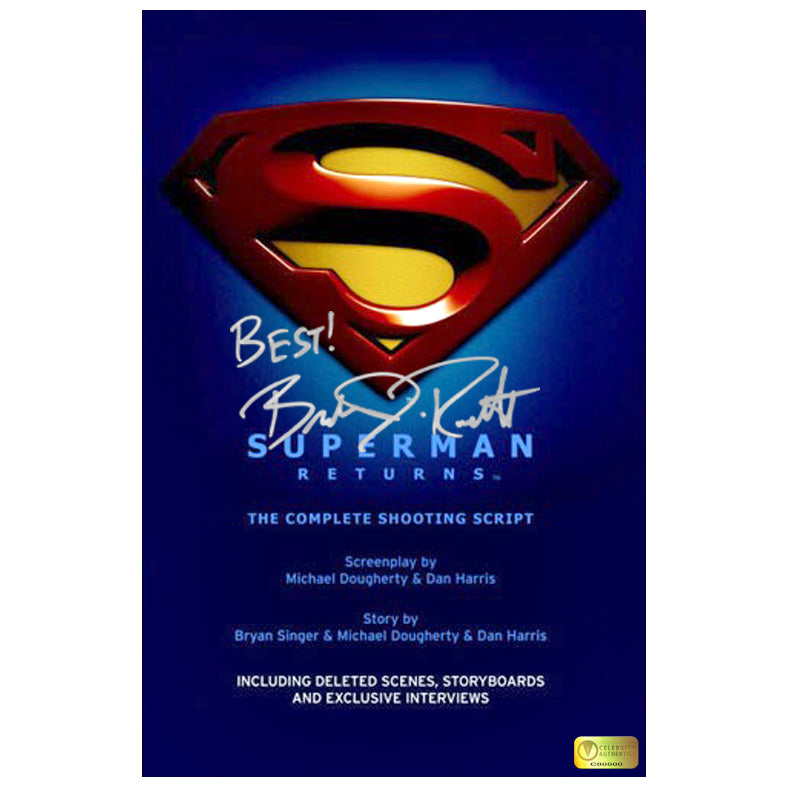 Brandon Routh Autographed Superman Returns Script