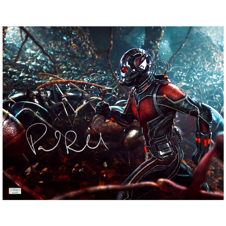 Paul Rudd Autographed Ant-Man The Colony 11×14 Photo
