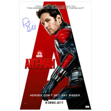 Load image into Gallery viewer, Paul Rudd Autographed Ant-Man 16×24 International Style Poster