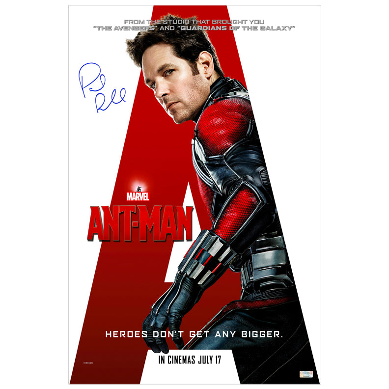 Paul Rudd Autographed Ant-Man 16×24 International Style Poster