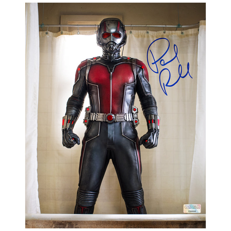 Paul Rudd Autographed Ant-Man 8×10 Photo
