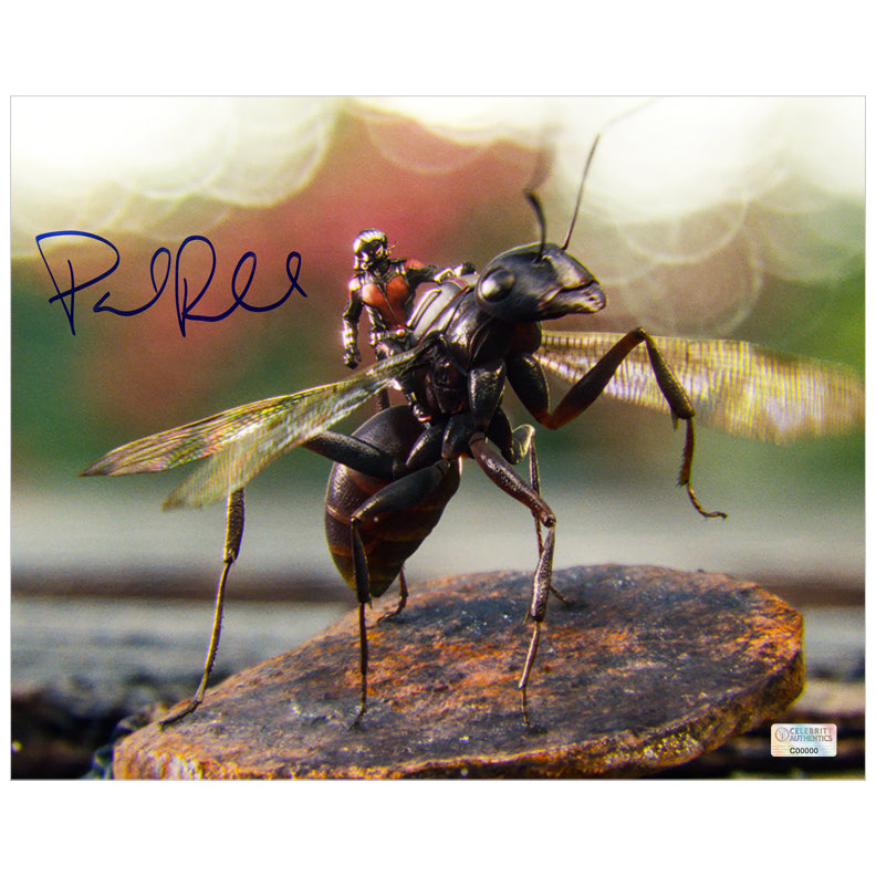 Paul Rudd Autographed Ant-Man with Antony 8×10 Photo